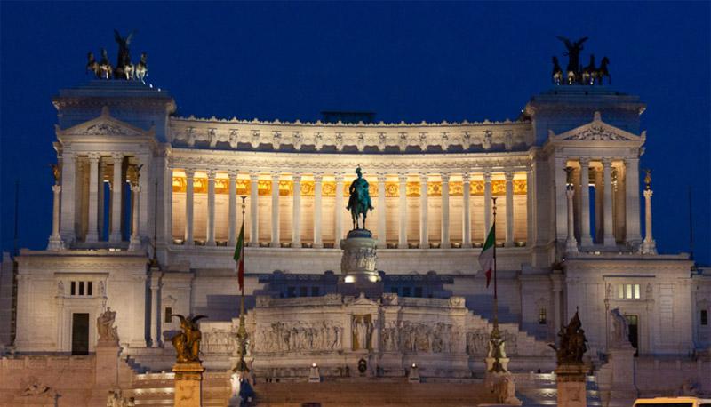 Roma_Vittoriano_Sera1